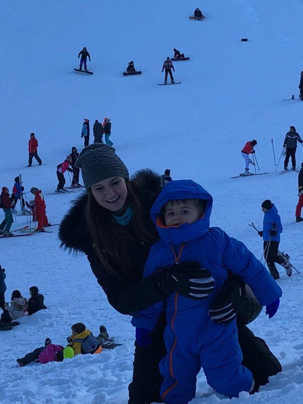 una giornata sulla neve