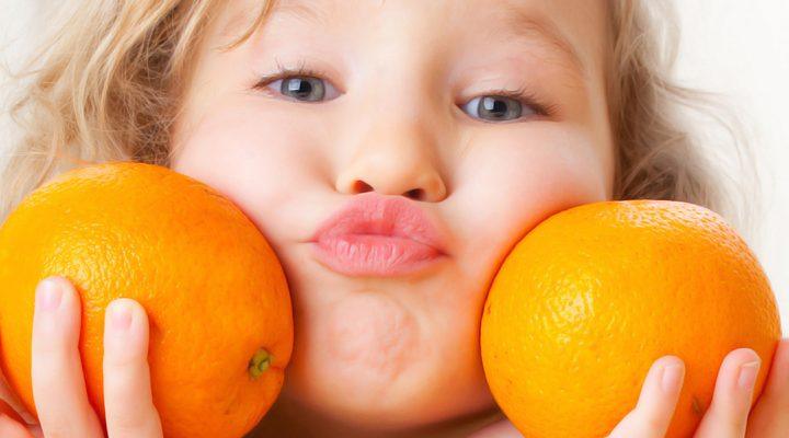 Arance proprietà e benefici per i bambini e per noi mamme