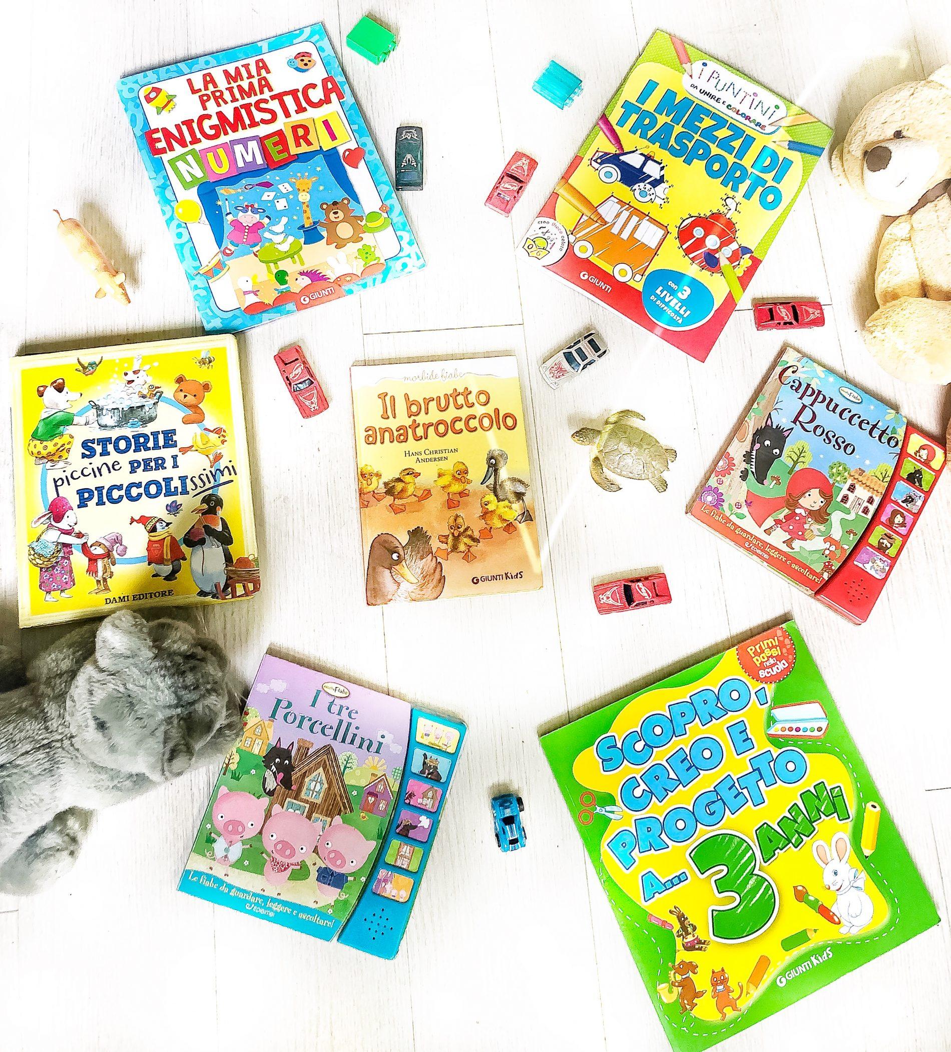 libri per bambini di 3 anni