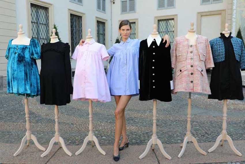 Bianca Balti Maternity, la nuova linea premaman per donne easy chic