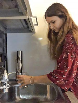 bere acqua dal rubinetto