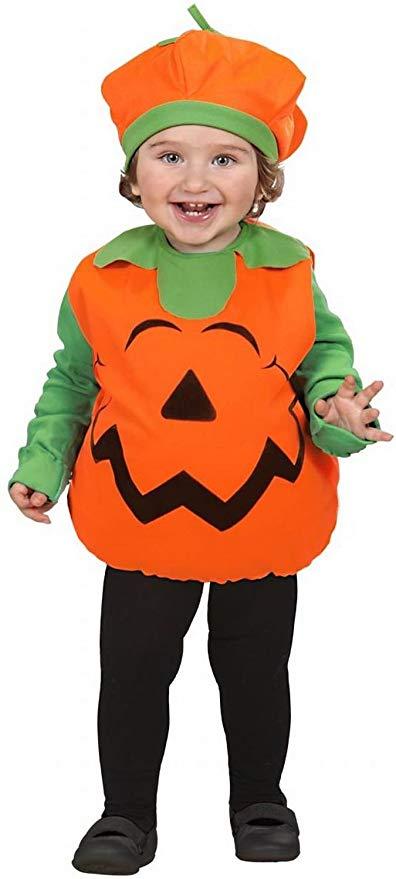 costume zucca bambina halloween 2018