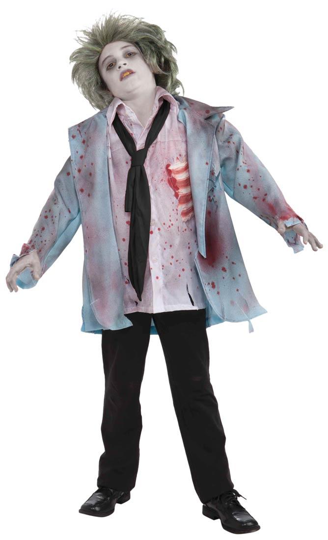 costume zombie bambino Halloween 2018