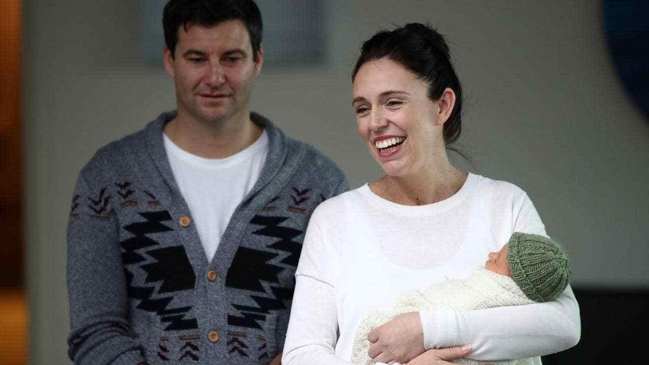 Jacinda Arden primo premier con neonata al seguito