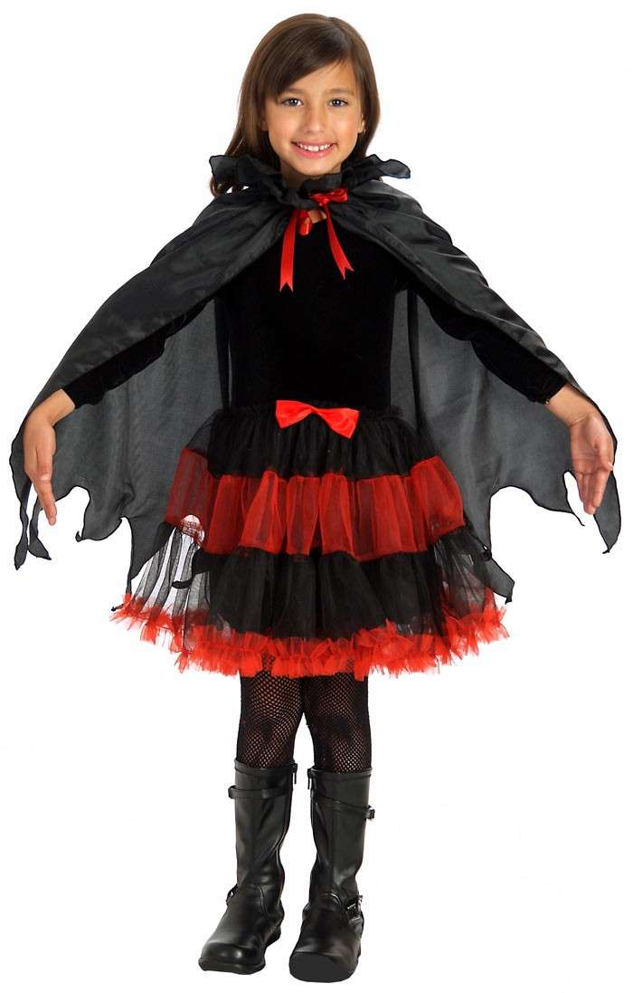 costume conte dracula bambina halloween 2018