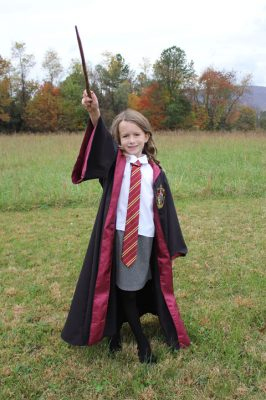 costume hermione bambina Halloween 2018
