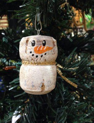 Decorazioni di Natale da fare con i bambini pupazzi di neve