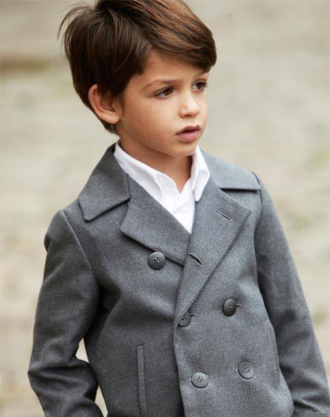 taglio capelli elegante per bambino