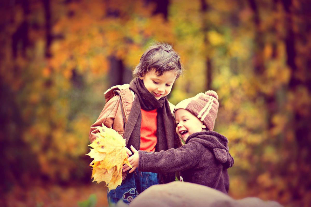 Giubbotti invernali per bambino.