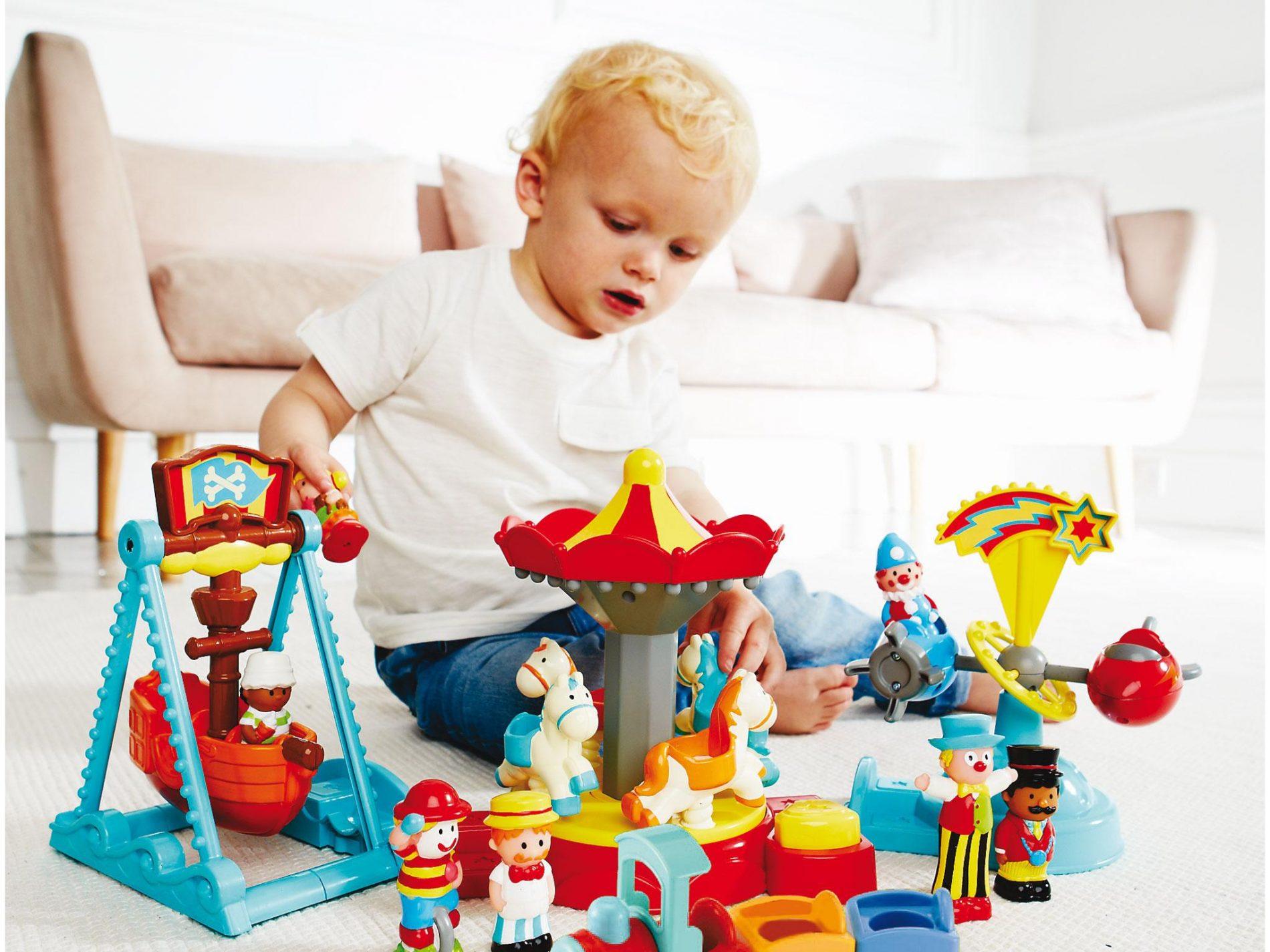 Giochi per bambini di 2 e 3 anni