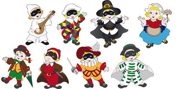 Le più famose maschere di Carnevale