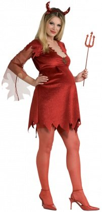Costume Carnevale premaman da diavolo