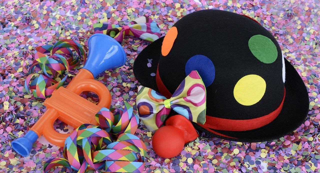 Giochi per bambini festa di Carnevale