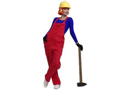 Costume Carnevale premaman da muratore
