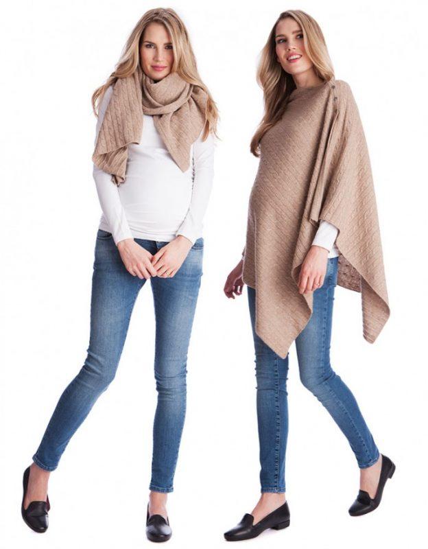 c2ddc5d39317 Outfit in gravidanza  i più belli per l inverno 2019 - STILE