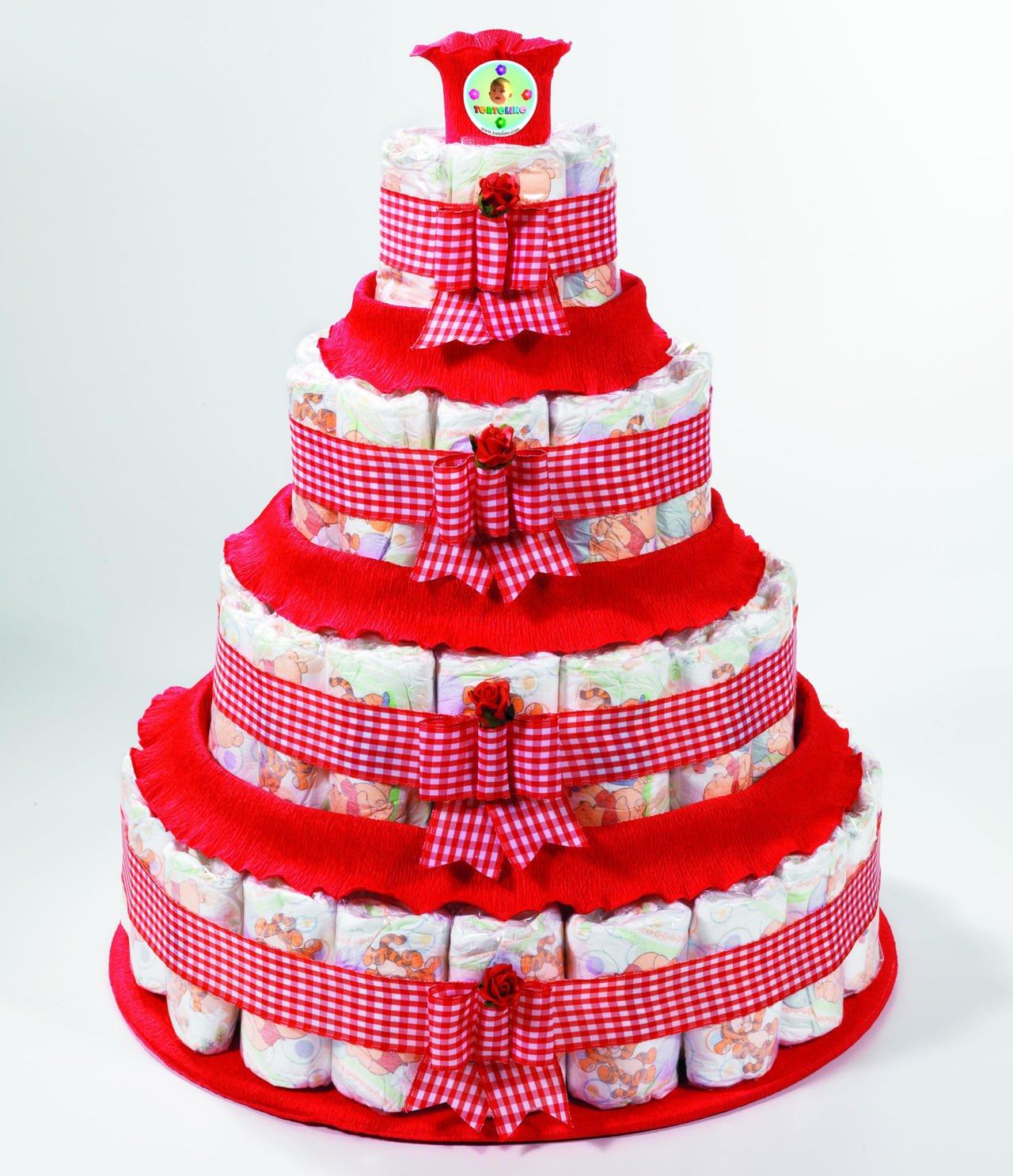 torte pannolini femmina