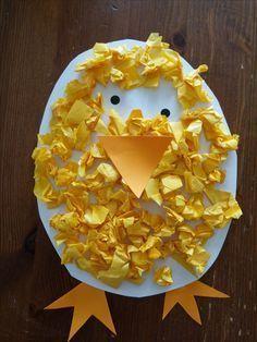 lavoretto di Pasqua creativo per bambini