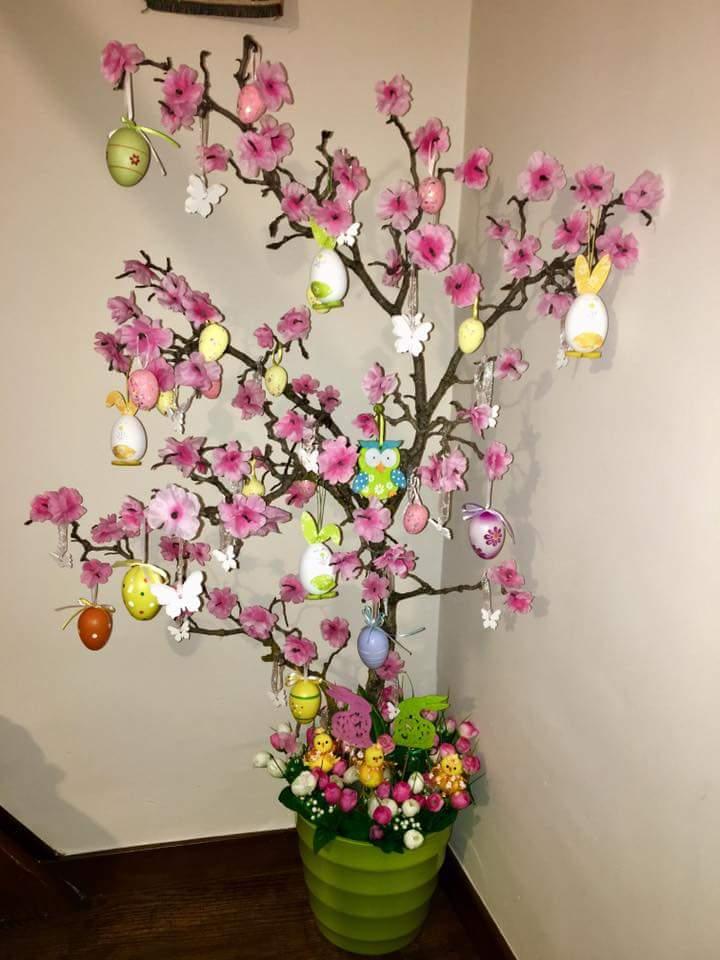 come fare un albero di pasqua