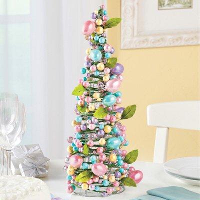 albero di pasqua colorato