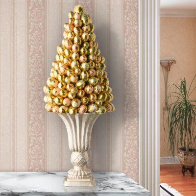 albero di pasqua elegante