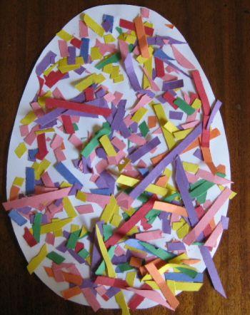 decorazione pasquale per bambini