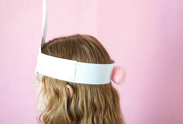 cappellino di pasqua per bambini