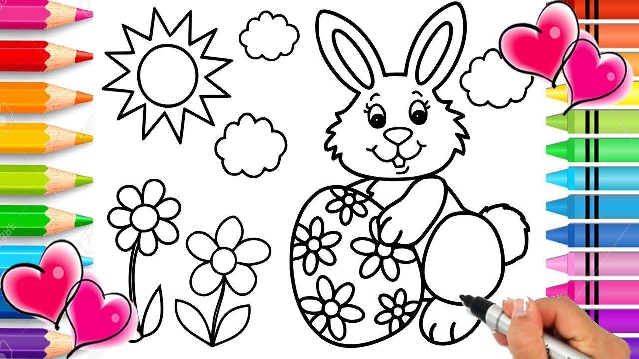 Pasqua disegni da colorare e stampare