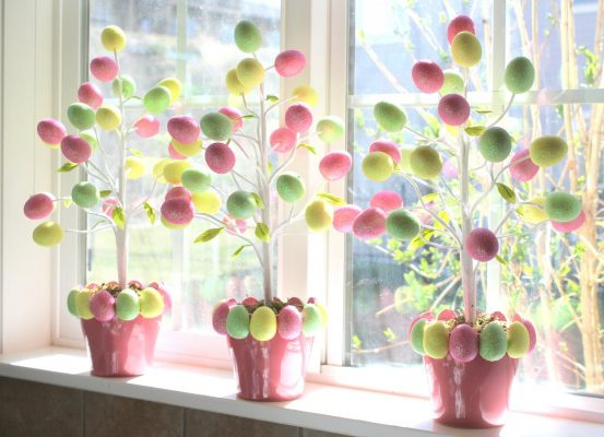 20 idee per fare l'albero di Pasqua