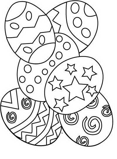 Disegno Uova Di Pasqua Da Colorare Una Mamma Si Racconta