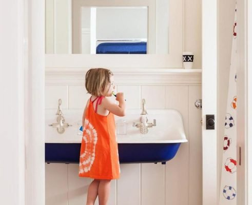 un bagno a misura di bambino