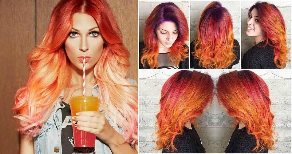 Sunset Hair: cosa sono e come realizzarli?