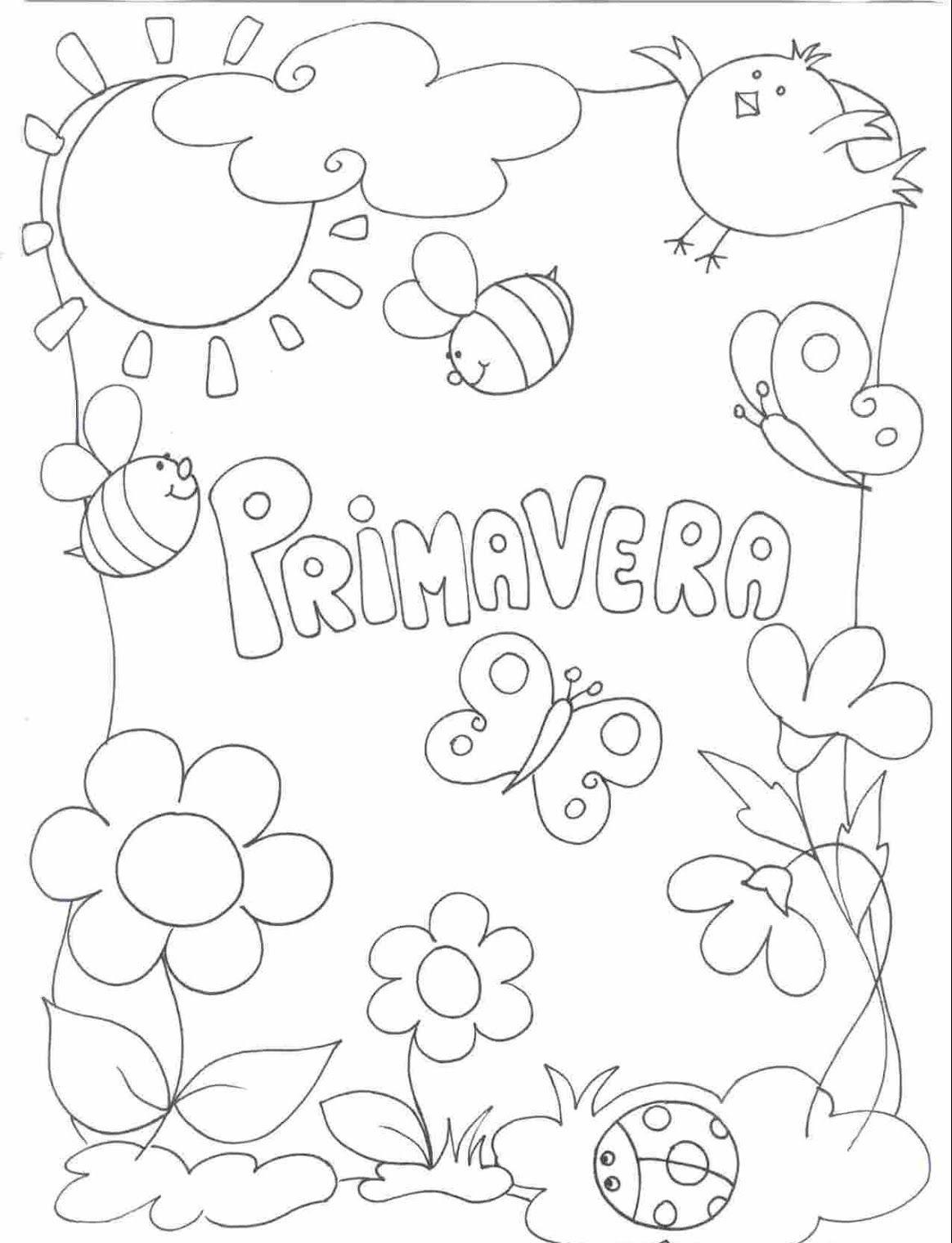 disegni sulla primavera da stampare