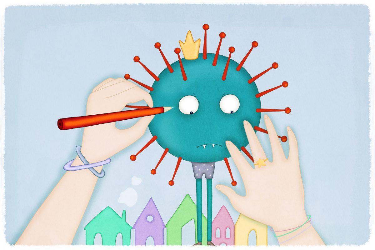 Come spiegare il coronavirus ai bambini