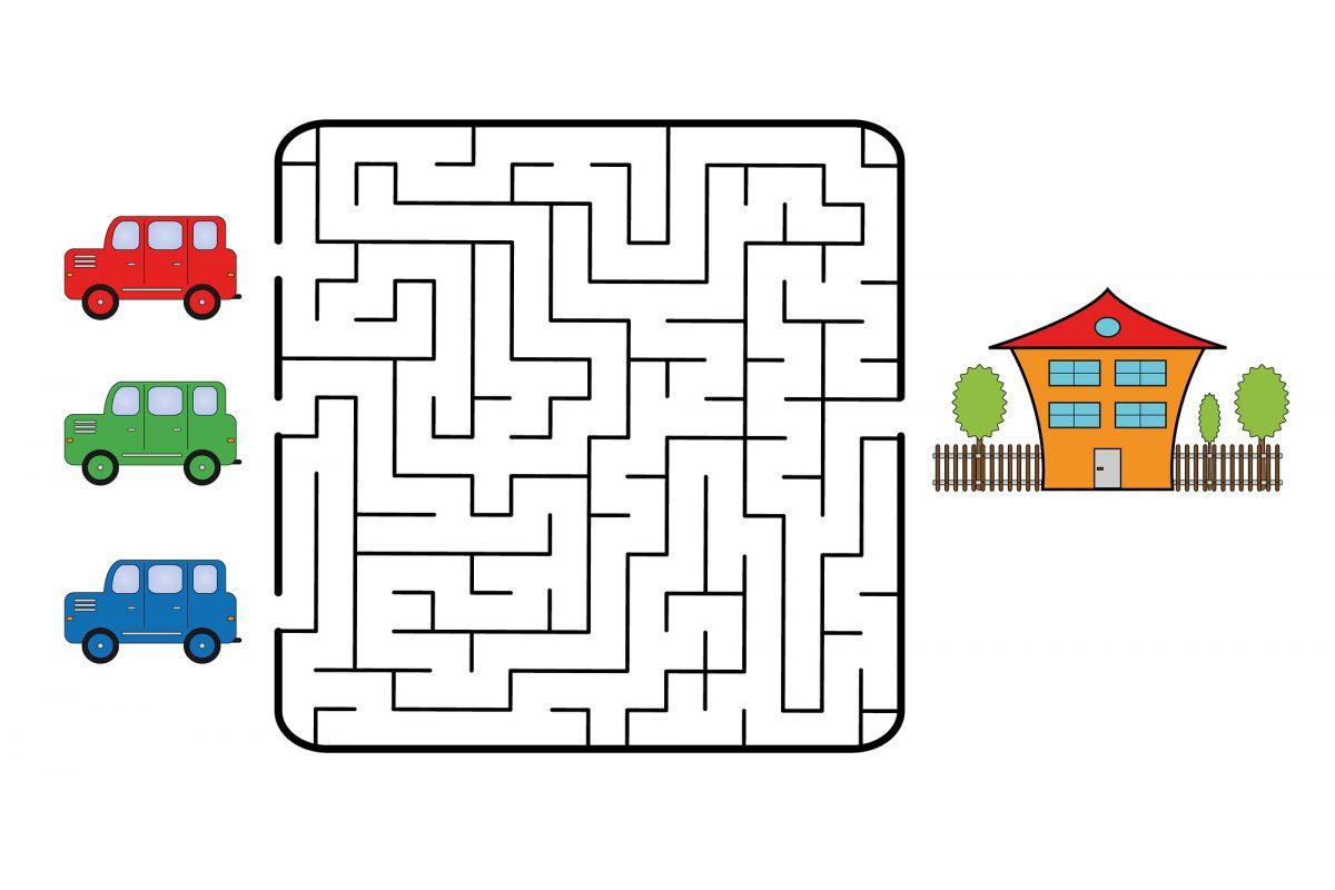 labirinti da stampare pdf