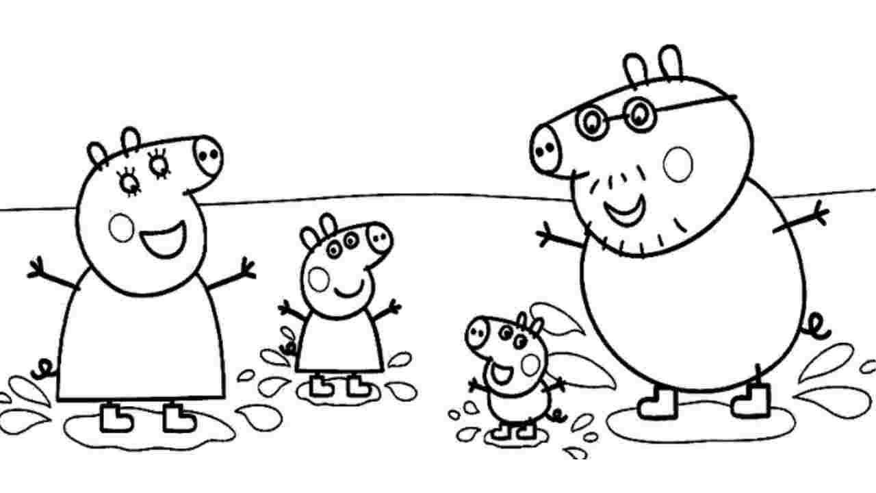 peppa pig disegno