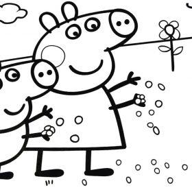 Disegni Peppa Pig Da Stampare Una Mamma Si Racconta