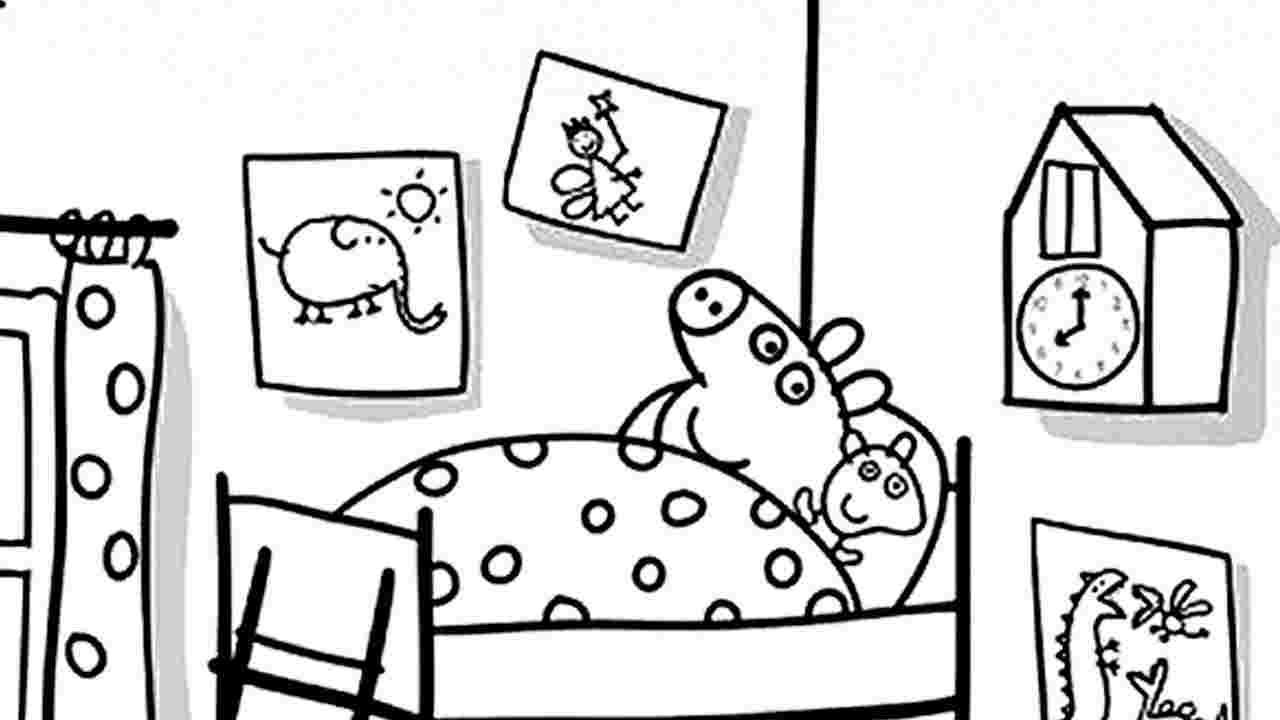 disegni da colorare e stampare peppa pig
