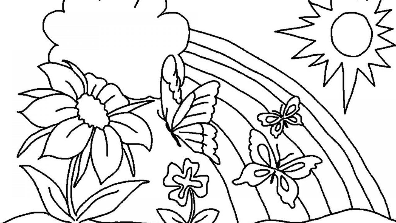 spesso Disegni di primavera: i più belli da stampare e colorare MK72