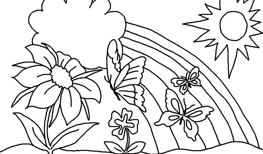 Disegni di primavera: i più belli da stampare e colorare