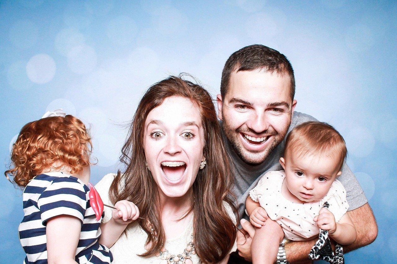 Come essere una famiglia felice in 5 passi