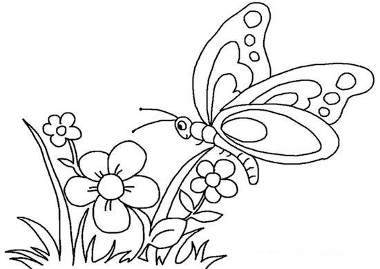 disegni primavera scuola infanzia