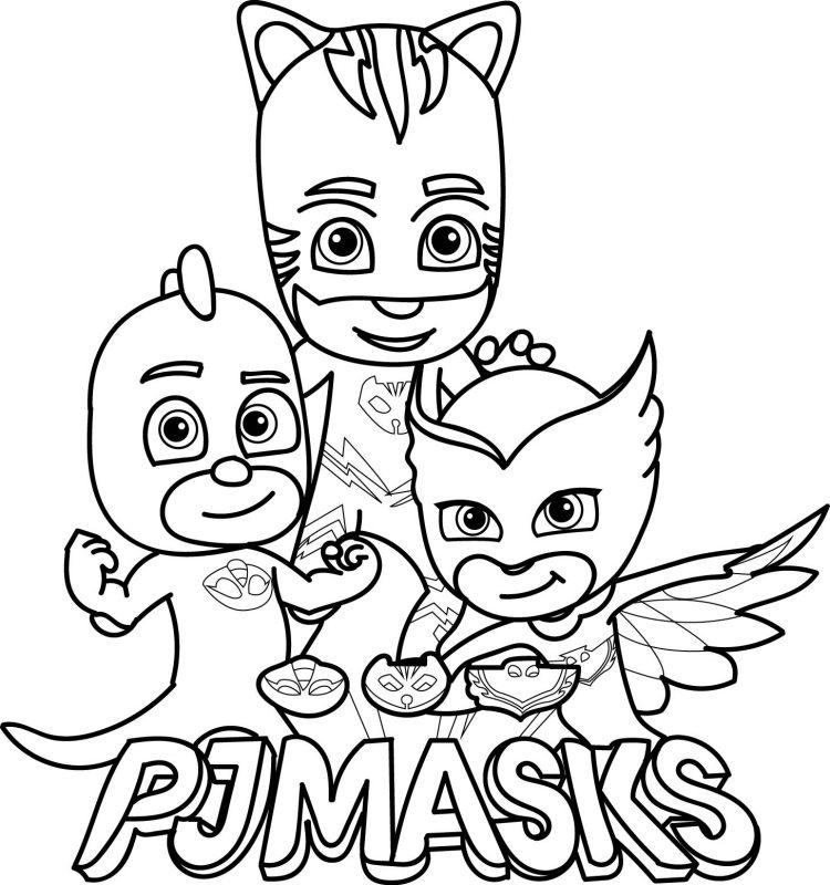 Disegni da colorare Pj Mask: i più belli