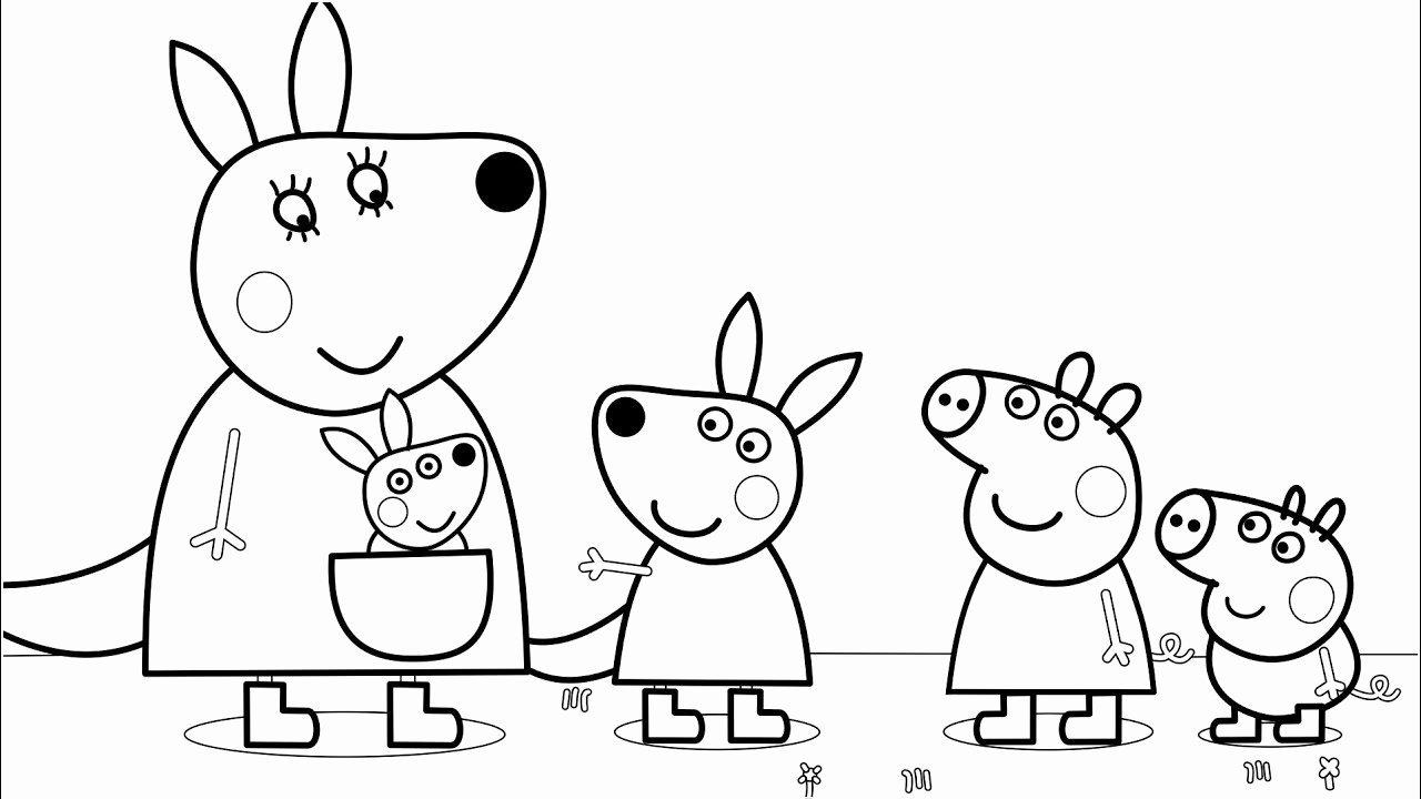 disegni da stampare peppa pig