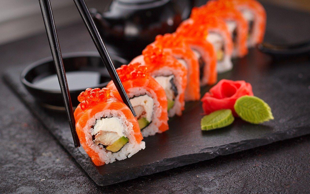 bambini possono mangiare sushi