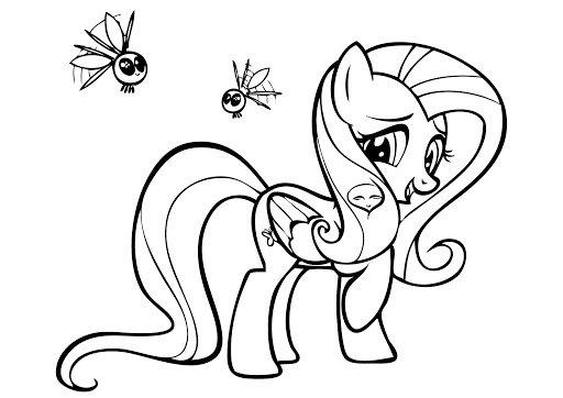 disegni da colorare my little pony