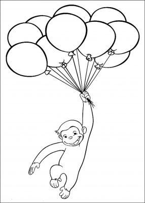 disegni palloncini colorati