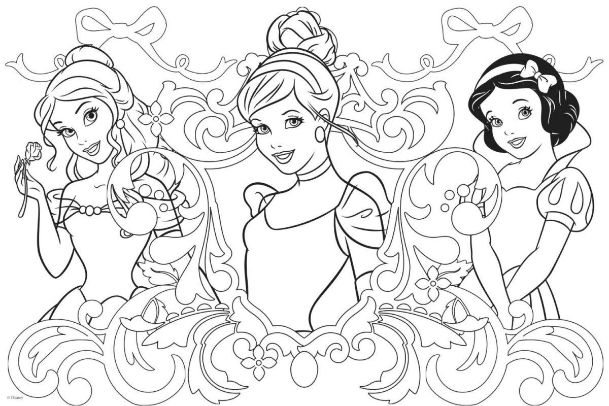disegni da colorare principesse rapunzel