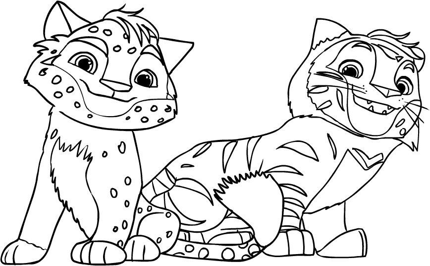 Leo e Tig disegni da stampare e colorare: ecco i più belli