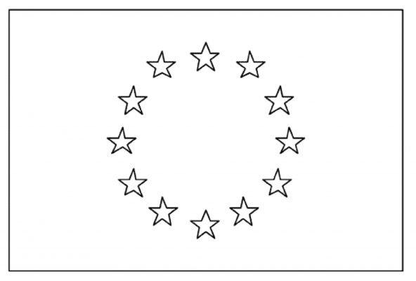 bandiera italiana disegno