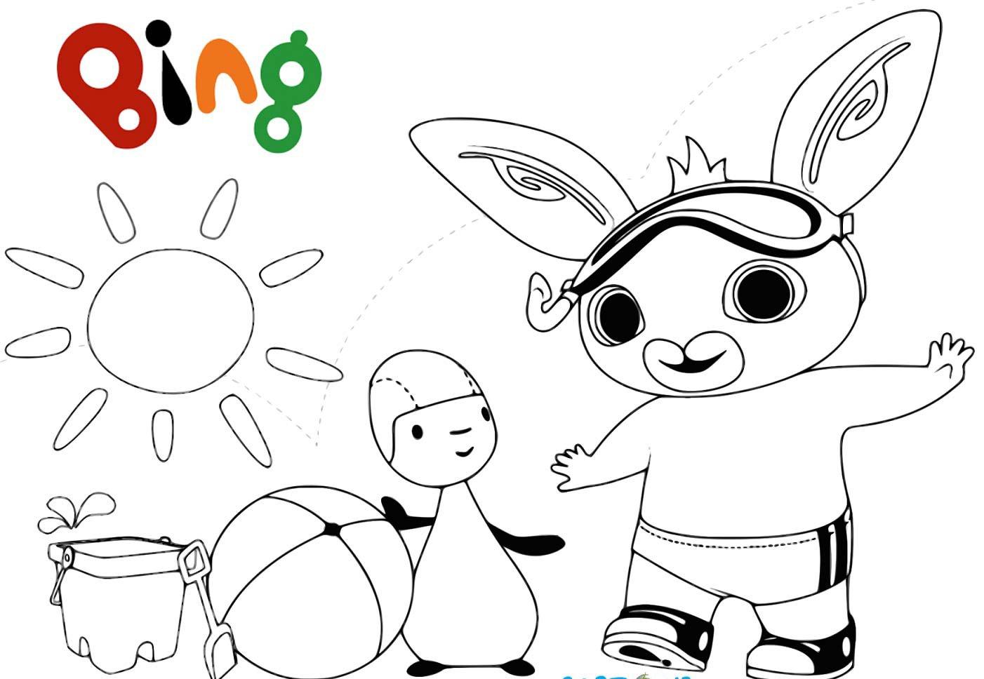 Disegni Da Stampare Colorare.Bing Il Coniglietto Ecco I Piu Bei Disegni Da Stampare E Colorare